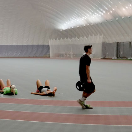 Extra Indoor Fitness Space