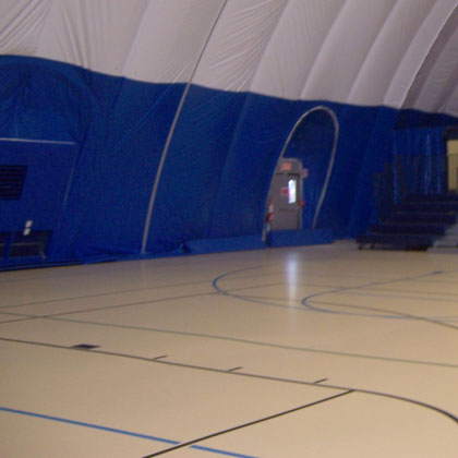 Cover Basketball Courts During Winter