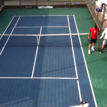 Paddle Tennis Covering
