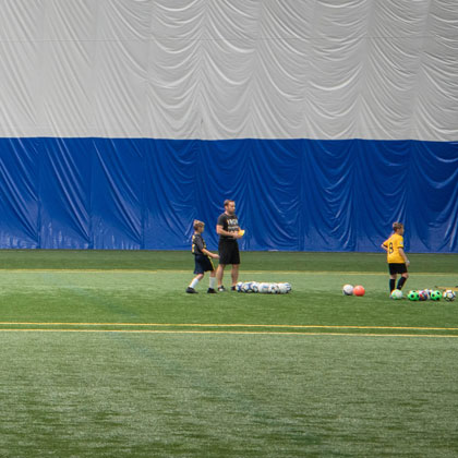 Indoor Soccer Covering