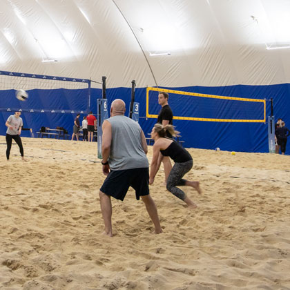 Seasonal Sand Volleyball Cover